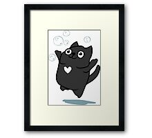 Mister Bubbles Framed Print