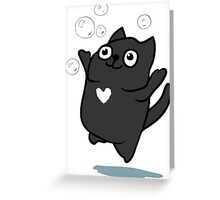Mister Bubbles Greeting Card