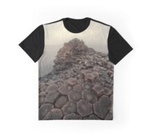 Sunny morning at Giant's Causeway Graphic T-Shirt