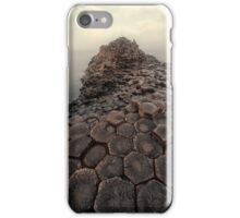Sunny morning at Giant's Causeway iPhone Case/Skin