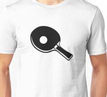 Ping Pong paddle Unisex T-Shirt
