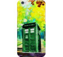Tardis Art Paint iPhone Case/Skin