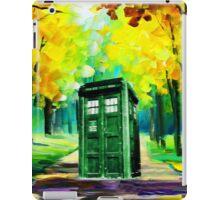Tardis Art Paint iPad Case/Skin