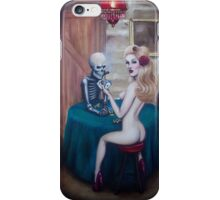 Strip poker iPhone Case/Skin