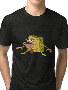 THE CAVE.....SPONG Tri-blend T-Shirt