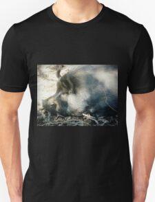 *Mrs. Pork Chops taking Life easy - Donegans Farm - Gordon Vic. Australia Unisex T-Shirt