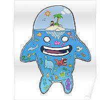 Aquarium Head Poster