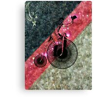 The Bicycle Rider Canvas Print