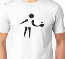 Ping Pong icon Unisex T-Shirt