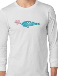Narwhal Love Long Sleeve T-Shirt