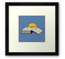 Read A Book Framed Print