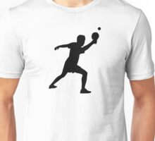 Ping Pong player Unisex T-Shirt