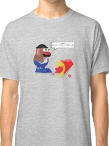 something went wrong! Classic T-Shirt