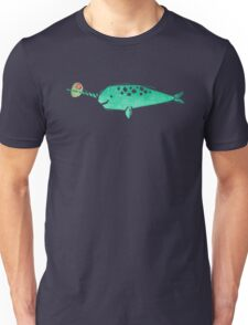 Narwhal shaken not stirred Unisex T-Shirt