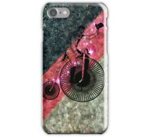The Bicycle Rider iPhone Case/Skin