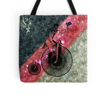 The Bicycle Rider Tote Bag