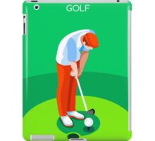Golf 2016 Summer Games 3D iPad Case/Skin