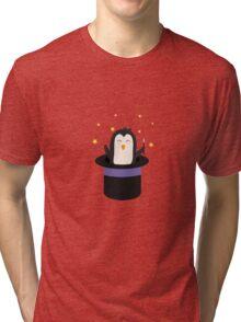 Penguin magician   Tri-blend T-Shirt