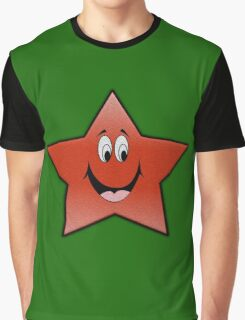 smile star Graphic T-Shirt