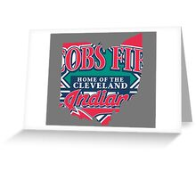 Cleveland Indians V Greeting Card