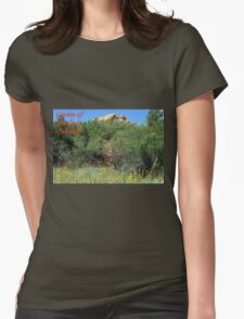 Garden of the Gods #14 Womens Fitted T-Shirt