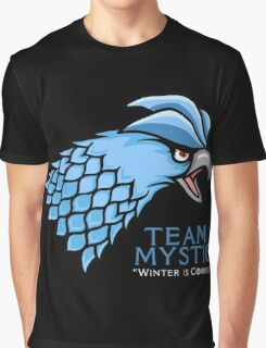 Team Mystic Winter's Comin' Graphic T-Shirt