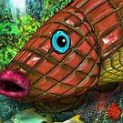 Wooden Pineapple Fish by GolemAura