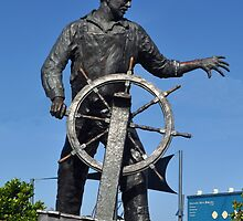 Memorial to Fishermen Lost at Sea by Margaret Stevens