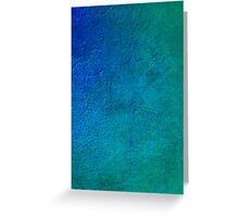 No.1 Turquoise Blue Greeting Card