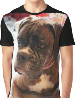 Christmas Day Portrait - Boxer Dogs Series Graphic T-Shirt