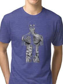 human body anatomy Tri-blend T-Shirt