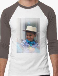 Cuenca Kids 796 Men's Baseball ¾ T-Shirt
