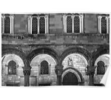 Dubrovnik Architecture Poster
