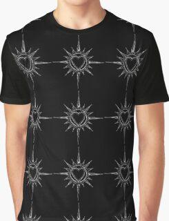 Cross my heart - black Graphic T-Shirt