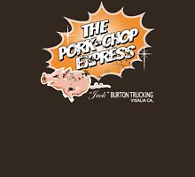 Pork Chop Express - Distressed Light Mocha Variant Womens Fitted T-Shirt
