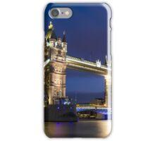 Tower Bridge at night, London iPhone Case/Skin