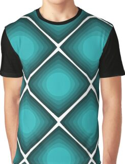 Retro Cube Graphic T-Shirt
