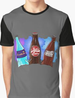 Quantum Nuka Cola Nuke Cherry Graphic T-Shirt