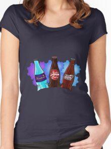 Quantum Nuka Cola Nuke Cherry Women's Fitted Scoop T-Shirt