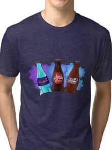 Quantum Nuka Cola Nuke Cherry Tri-blend T-Shirt