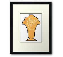 Rapture Baseball Cup Partecipant Framed Print
