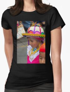 Cuenca Kids 798 Womens Fitted T-Shirt