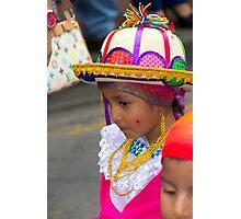 Cuenca Kids 798 Photographic Print