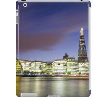 London Thames Cityscape at Sunset iPad Case/Skin