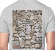 STONE WALL, Rock and a hard Place,  textures, Stonewall Jackson Unisex T-Shirt