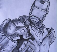 Iron Man by ncy-rvas