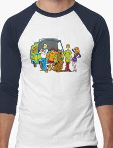 scooby doo bi dam Men's Baseball ¾ T-Shirt
