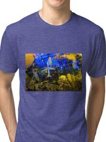 Travel Map Tri-blend T-Shirt