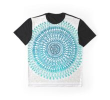 Radiate in Teal + Emerald Graphic T-Shirt