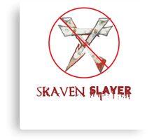 Skaven Slayer Canvas Print
